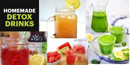 Homemade Drink for Daily Satisfaction & Detoxification