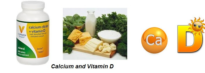 Healthy Diet for Osteoporosis: Calcium and Vitamin D