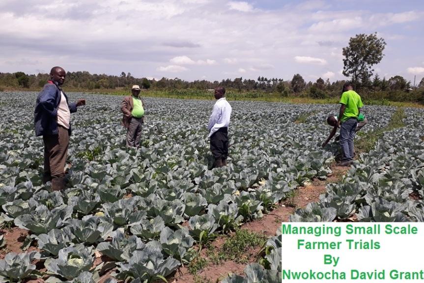 Managing Small Scale FarmerTrials